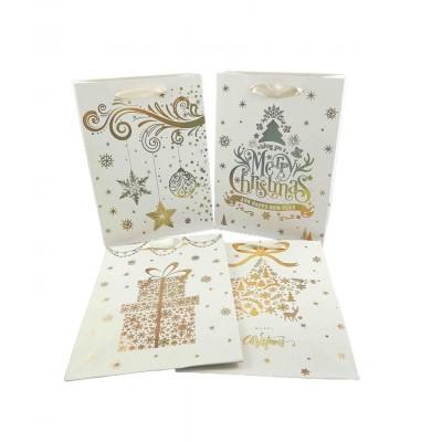 Dárková taška Vánoční 30 x 40 x 12 cm