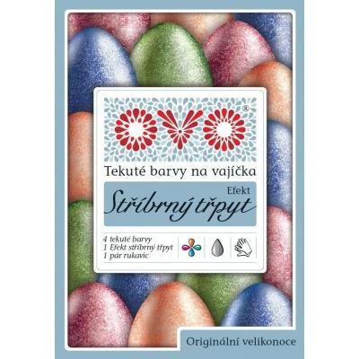 OVO Velikonoční Gelové barvy a Efekt Stříbrný