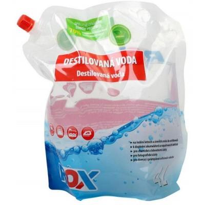 Carlson Rox Destilovaná voda v sáčku pro technické účely 4l