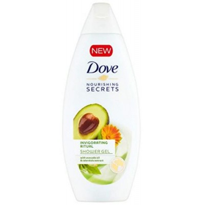 Dove Avokádový olej a extrakt z měsíčku sprchový gel, 250 ml