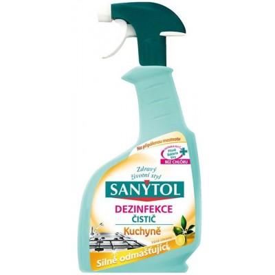 Sanytol Dezinfekce odmašťující čistič kuchyně Citrusové plody 500 ml