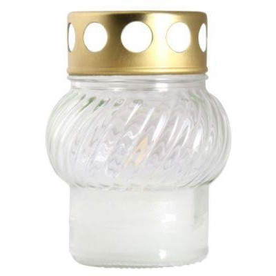 Bispol Hřbitovní svíčka sklo