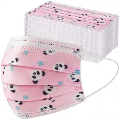 Dětská rouška 3-vrstvá PANDA™ Pink 50 ks