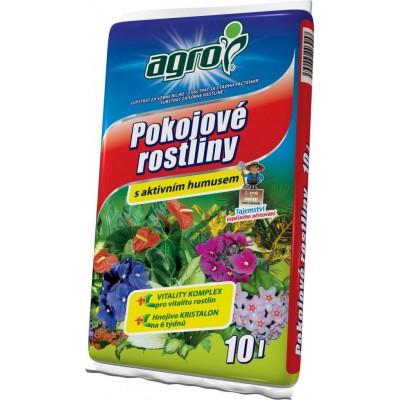 Agro Substrát pro pokojové rostliny 10 l 10