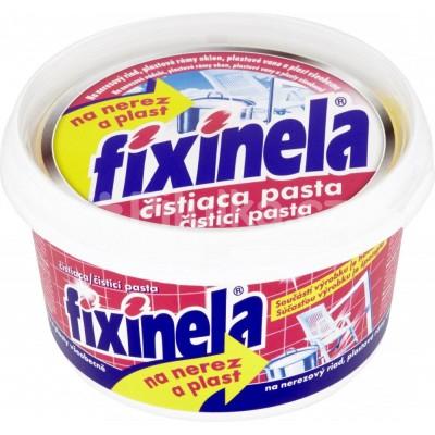Fixinela čistící pasta na nerez a plast 200g