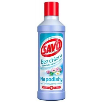 SAVO Bez chloru Dezinfekce na podlahy Jarní svěžest 1 l