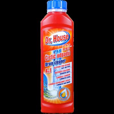 Dr. House čistič odpadů HOT na teplou vodu 500 g