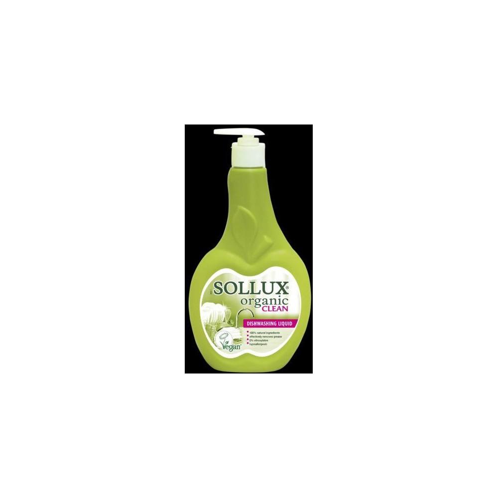 Sollux Organic Clean Prostředek na mytí nádobí 500 ml