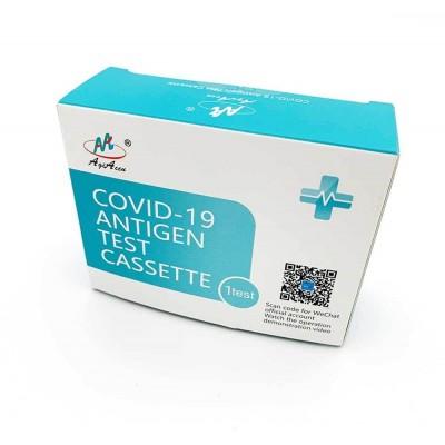 AgiAccu Covid-19 Antigen Test Cassette, test ze slin, 1 ks