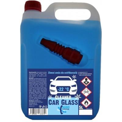 Cleaner Car Glass nemrznoucí kapalina do odstřikovačů -22°C 5l