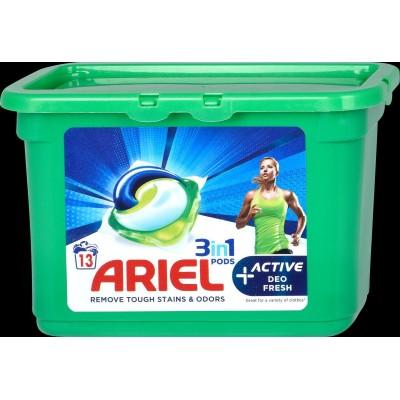 Ariel Gelové kapsle na praní 3in1 Mountain Spring 11 ks