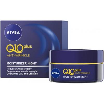 Nivea Q10 Noční krém proti vráskám 50 ml