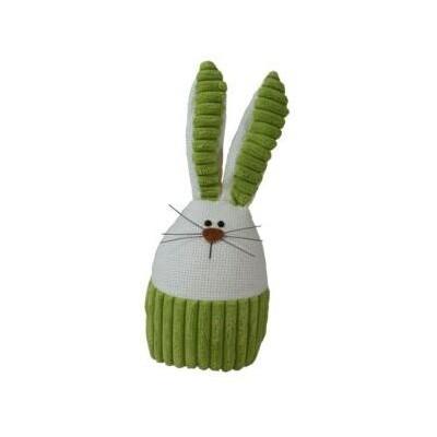 Zajíček látkový zelený malý 26 cm