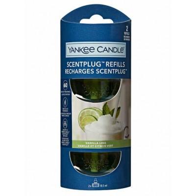 Yankee Candle náhradní náplň do zásuvky 2 ks Vanilla lime