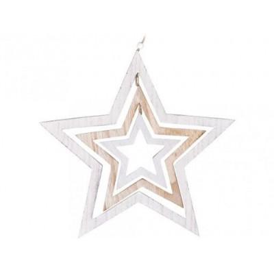 Emocio dekorace hvězda 400 mm