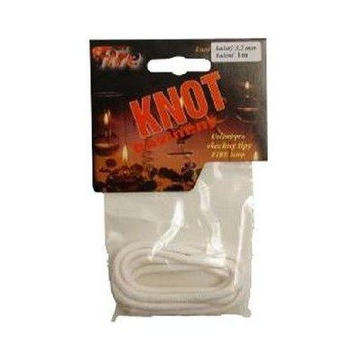 Firewick Knot bavlněný kulatý průměr 3,2mm délka 100cm