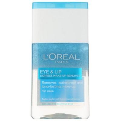 L'Oréal Paris Skin Perfection dvoufázový odličovač na oční okolí a rty 125 ml