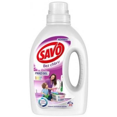 SAVO Prací Gel na Barevné Prádlo 1 l