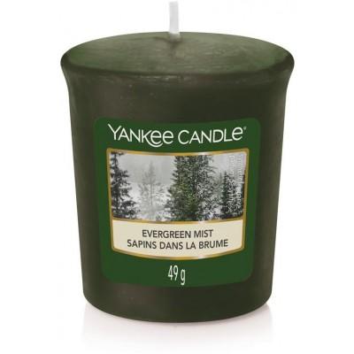 Yankee Candle Votivní svíčka Evergreen Mist 49 g